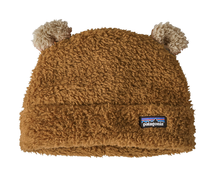 Patagonia Baby Furry Friends Fleece Hat - Beech Brown