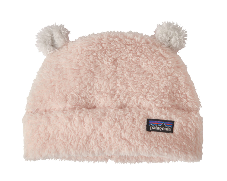 Patagonia Baby Furry Friends Fleece Hat - Prima Pink