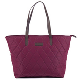 Barbour Witford Quilted Tote - Juniper