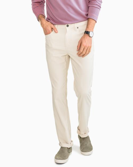 Southern Tide Men's Intercoastal Performance Pant - Stone