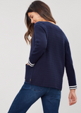 Joules Ursula Milano Cardigan - French Navy