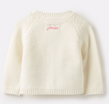Joules Dorrie Knitted Cardigan - Cream Bunnies