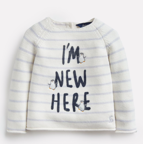Joules Winnie Knitted Sweater - New Here