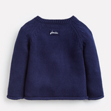 Joules Beau Knitted Sweater - Navy Star