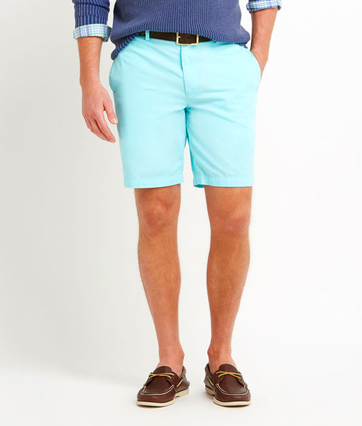 Vineyard Vines Men's Summer Twill Club Shorts  - Poolside