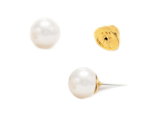 Kiel James Patrick Simple and Elegant 8mm Earrings