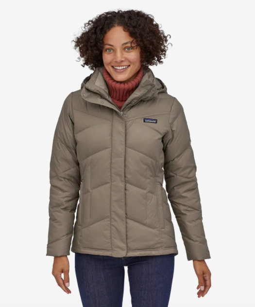 Patagonia Women's Down With It Jacket - Furry Taupe