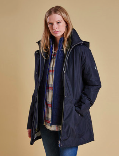Barbour Winter Trevose Waterproof Breathable Jacket
