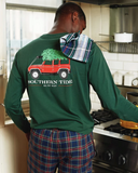 Southern Tide Long Sleeve Holiday Ready T-Shirt - Pineneedle