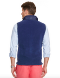 Back View Vineyard Vines Fleece Harbor Vest
