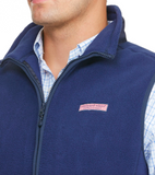 Close-up Vineyard Vines Fleece Harbor Vest