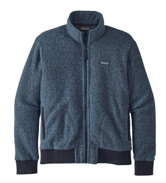 Patagonia Men's Woolyester Fleece Jacket - Stone Blue