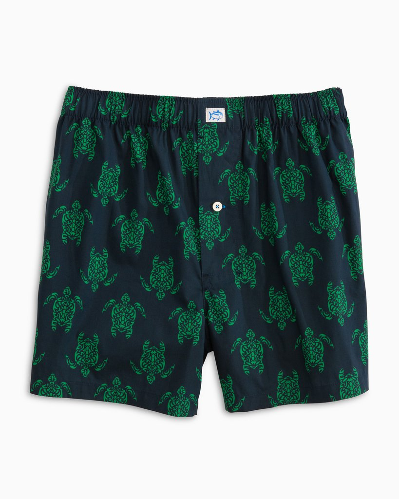 Southern Tide Am I Turtle Enough? Boxer - Kelly Green