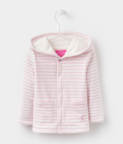 Joules Baby Cuddle Hooded Sweatshirt - Bon Bon Stripe