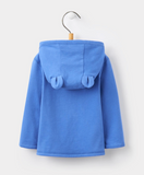 Joules Baby Cuddle Hooded Sweatshirt - Dazzling Blue