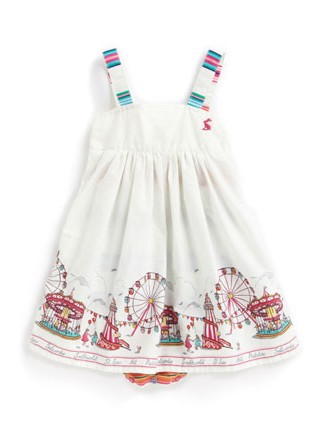 Joules Baby Cherish Dress - Pier