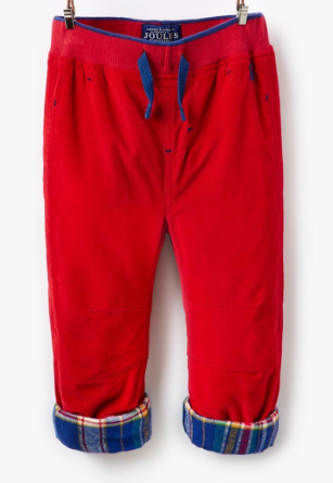 Joules Baby Alfred Cord Pants - Red
