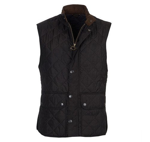 Barbour Lowerdale Gilet - Black Front
