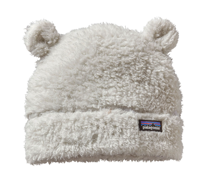 Patagonia Baby Furry Friends Hat - Birch White