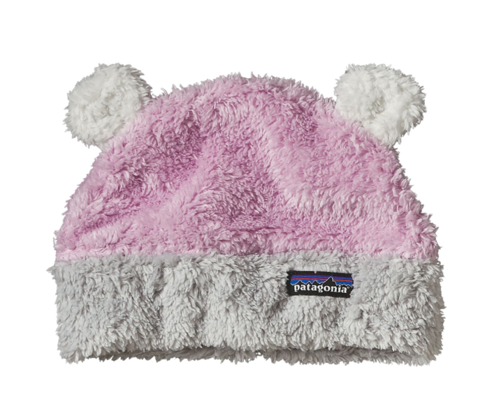 Patagonia Baby Furry Friends Hat - Dragon Purple