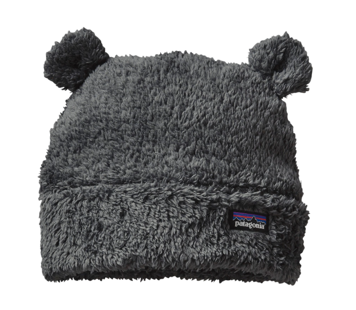 Patagonia Baby Furry Friends Hat - Forge Grey