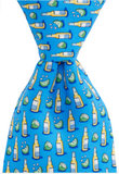 Vineyard Vines Beer & Lime Tie - Bimini Blue