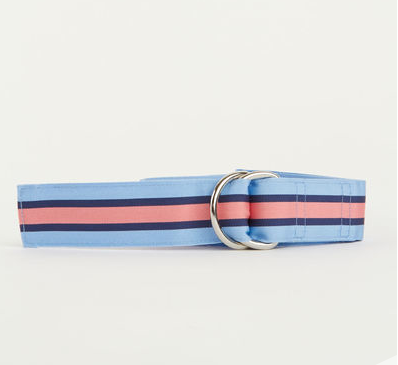 Vineyard Vines Wake Stripe Grosgrain Belt