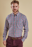 Barbour Mens Bibury Shirt - Plum