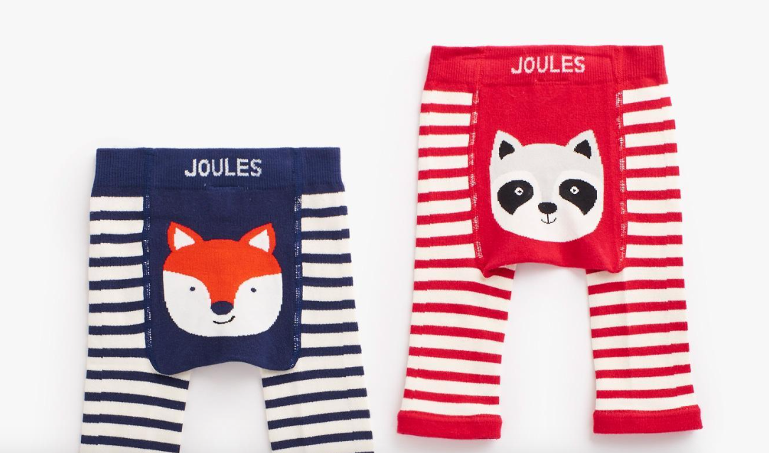 8b3333f89a Joules Baby Boy Twin Pack Leggings - Forest