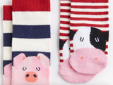 Joules Baby Boy Character Socks - Farm