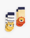 Joules Baby Boy Character Socks - Jungle