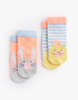 Joules Baby Character Socks - Easter