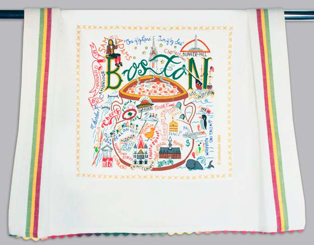 Catstudio Boston Dishtowel