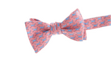 Vineyard Vines Crossbone Whale Bow Tie - Light Pink