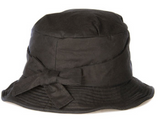 Barbour Bow Tied Wax Hat - Olive
