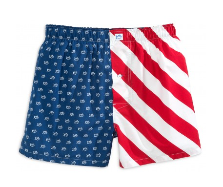 Southern Tide Let Freedom Ring Boxer