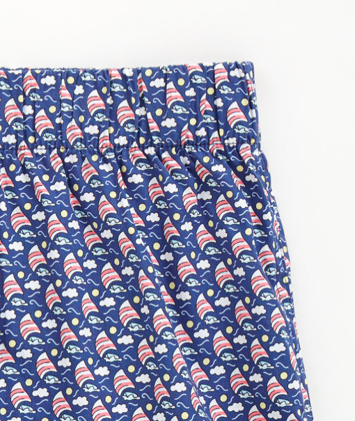 Vineyard Vines Boxers - sailboats navy