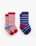 Joules Baby Boy's Fleece Socks - Sky Fox