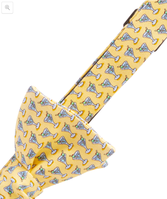 Vineyard Vines Martini Bow Tie - Yellow