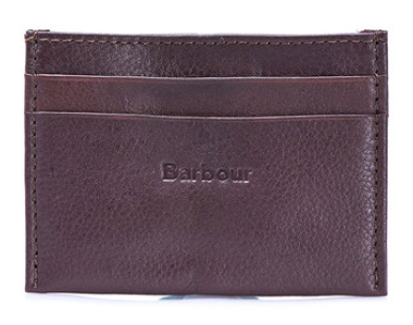Barbour Card Holder - Brown
