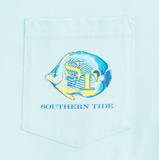 Southern Tide Caribbean Fish T-Shirt - Pool