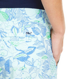 Vineyard Vines Cordia Floral Dayboat Shorts - Wintermint