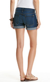 Vineyard Vines Cuffed Dark Wash Denim Shorts - Blue Moon