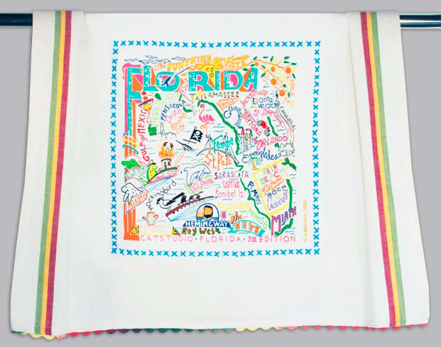 Catstudio Florida Dishtowel