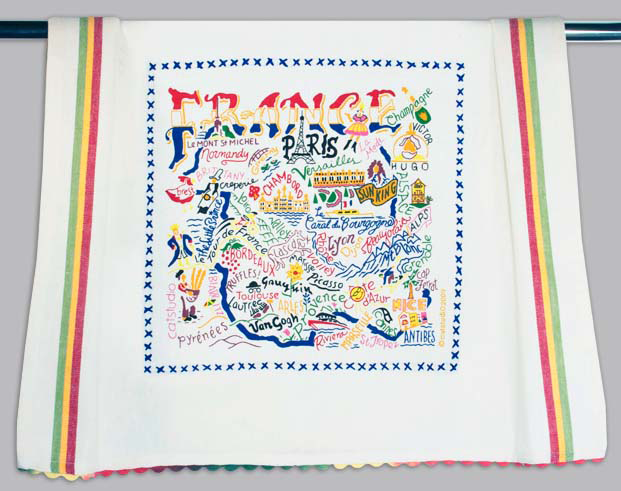 Catstudio France Dishtowel