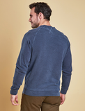 Barbour Garment Dyed Crew Neck - Navy