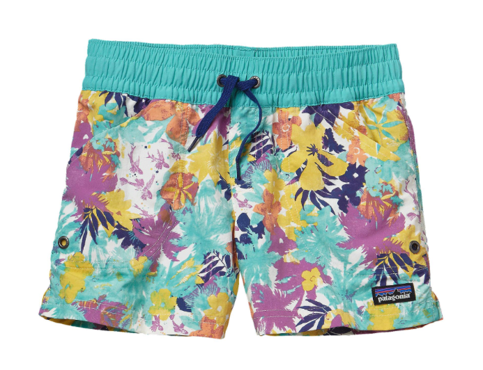 Patagonia Girls' Costa Rica Baggies Shorts - Howling Turquoise