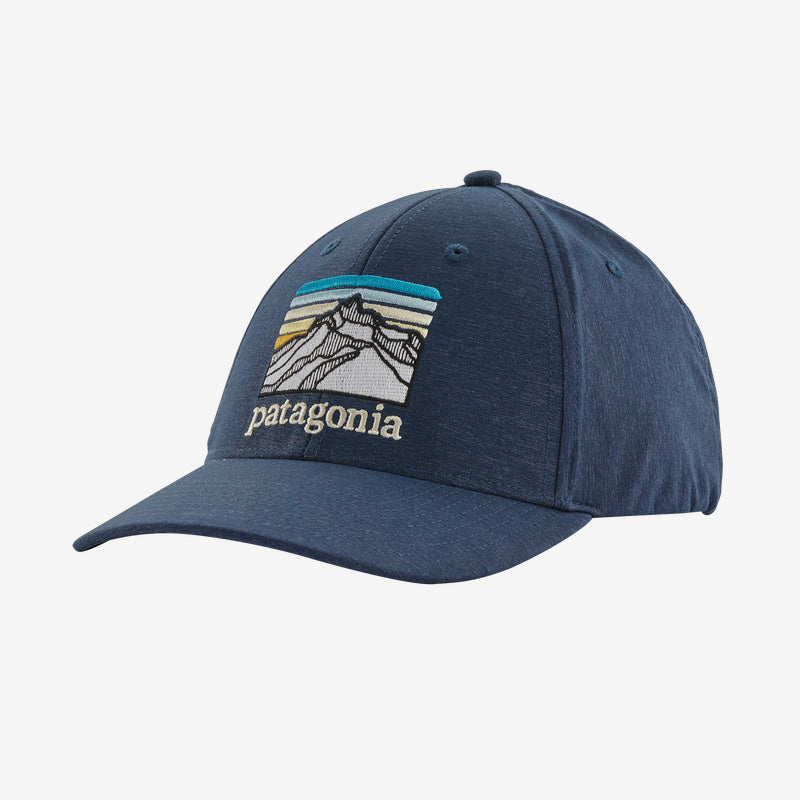 Patagonia Line Logo Ridge Channel Watcher Cap - Stone Blue