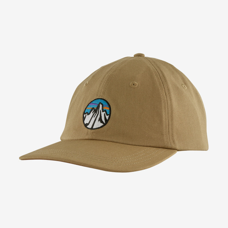 Patagonia Fitz Roy Scope Icon Trad Cap - Classic Tan