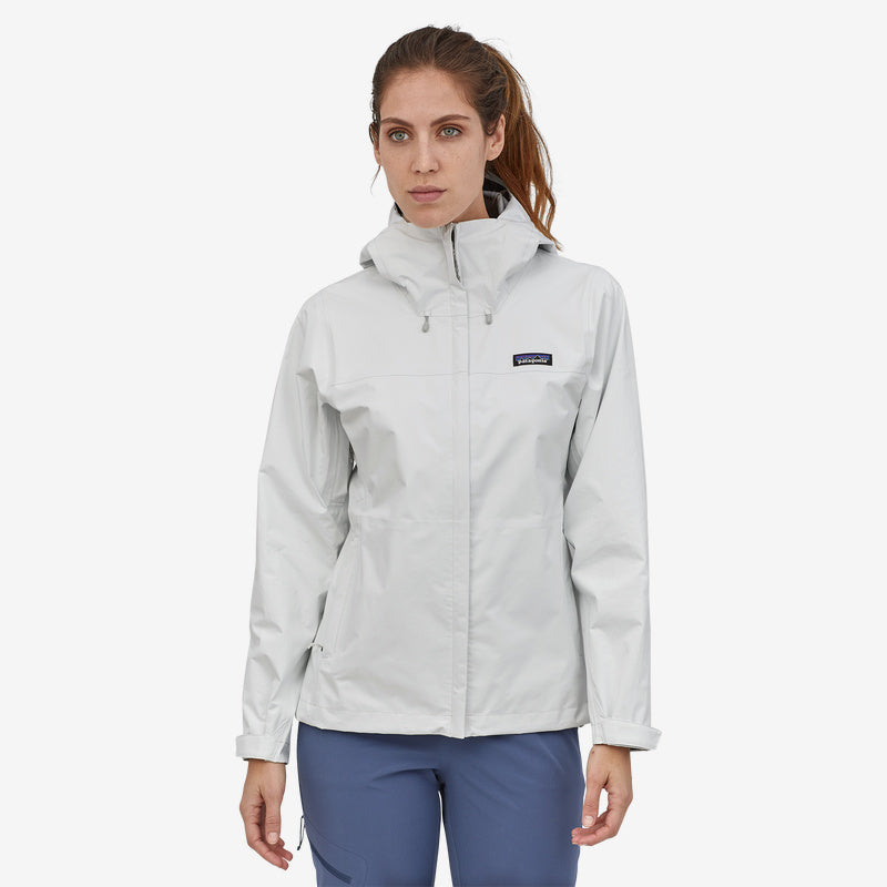 Patagonia Women's Torrentshell 3L Jacket - Birch White